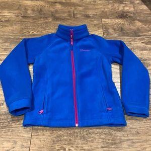 Columbia Zip up fleece sweater